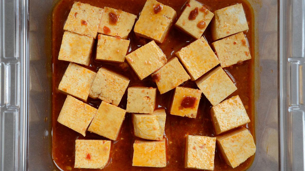 Preparing the Tofu (optional)