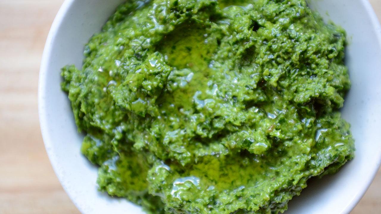 Kale & Basil Pesto