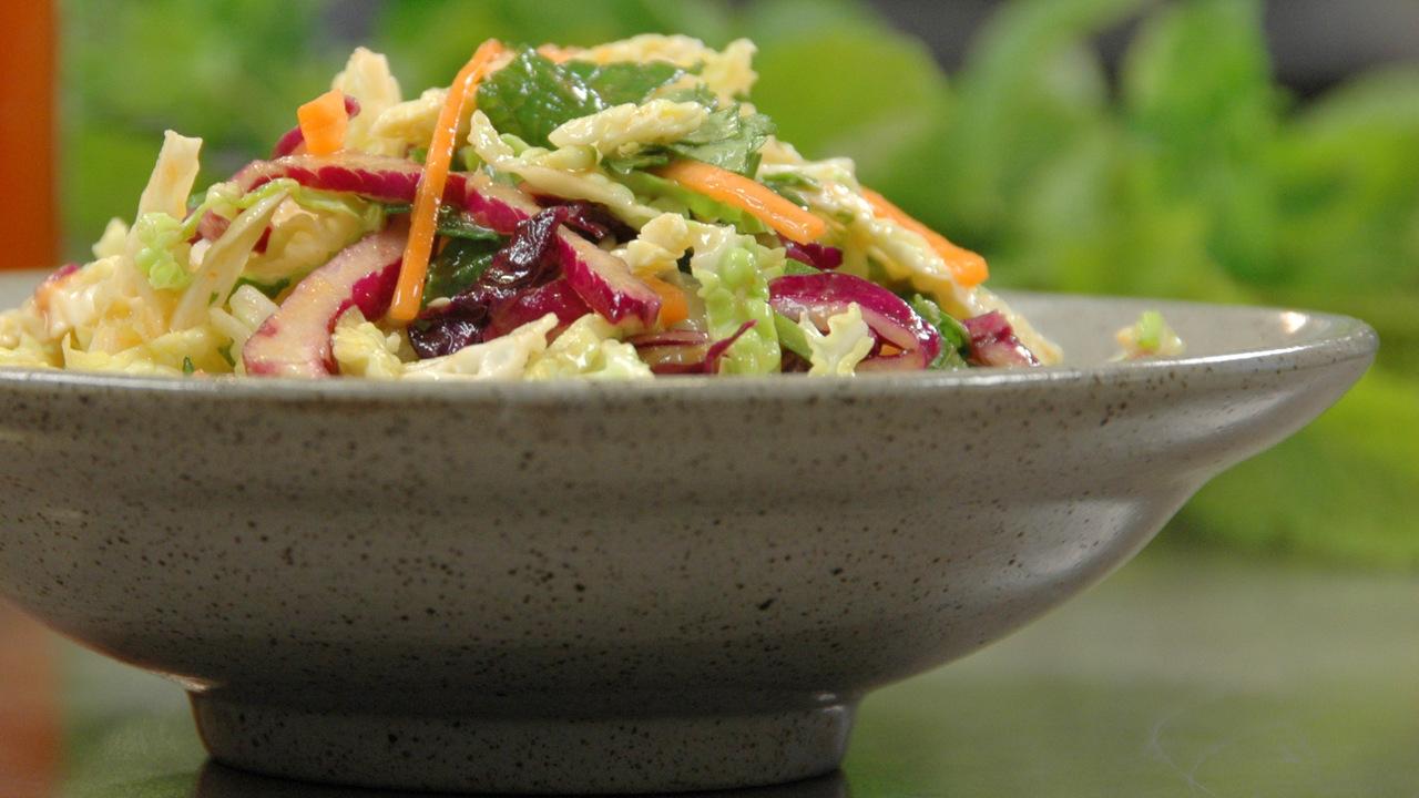 Asian Wild Rice Salad