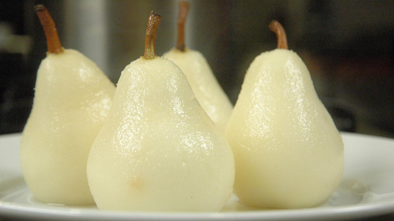 Jasmine Poached Pears