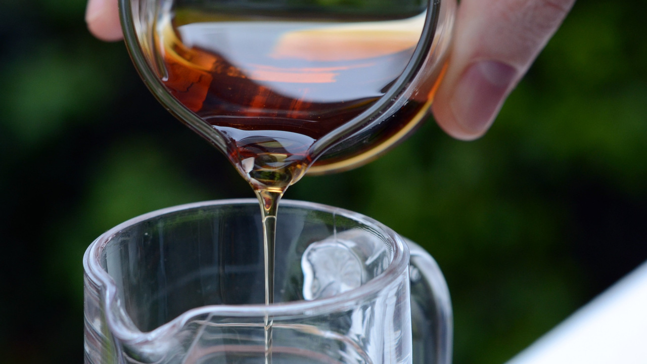 Bourbon Spiced Maple Syrup