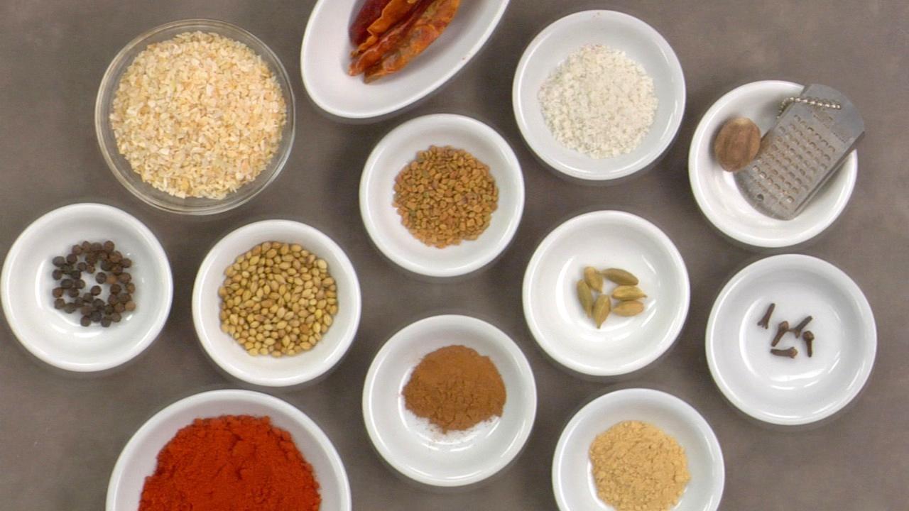 Preparing the Spice Blend