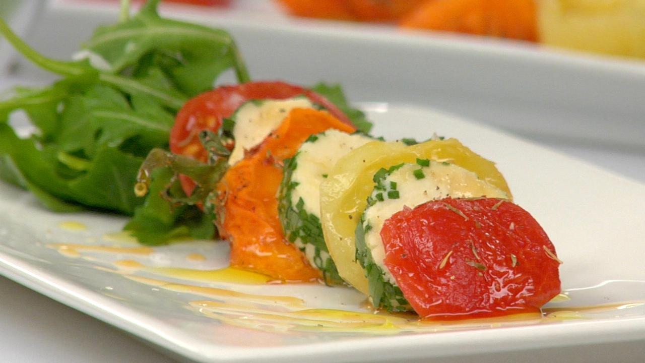 Semi Dried Tomato & Macadamia Cheese Salad