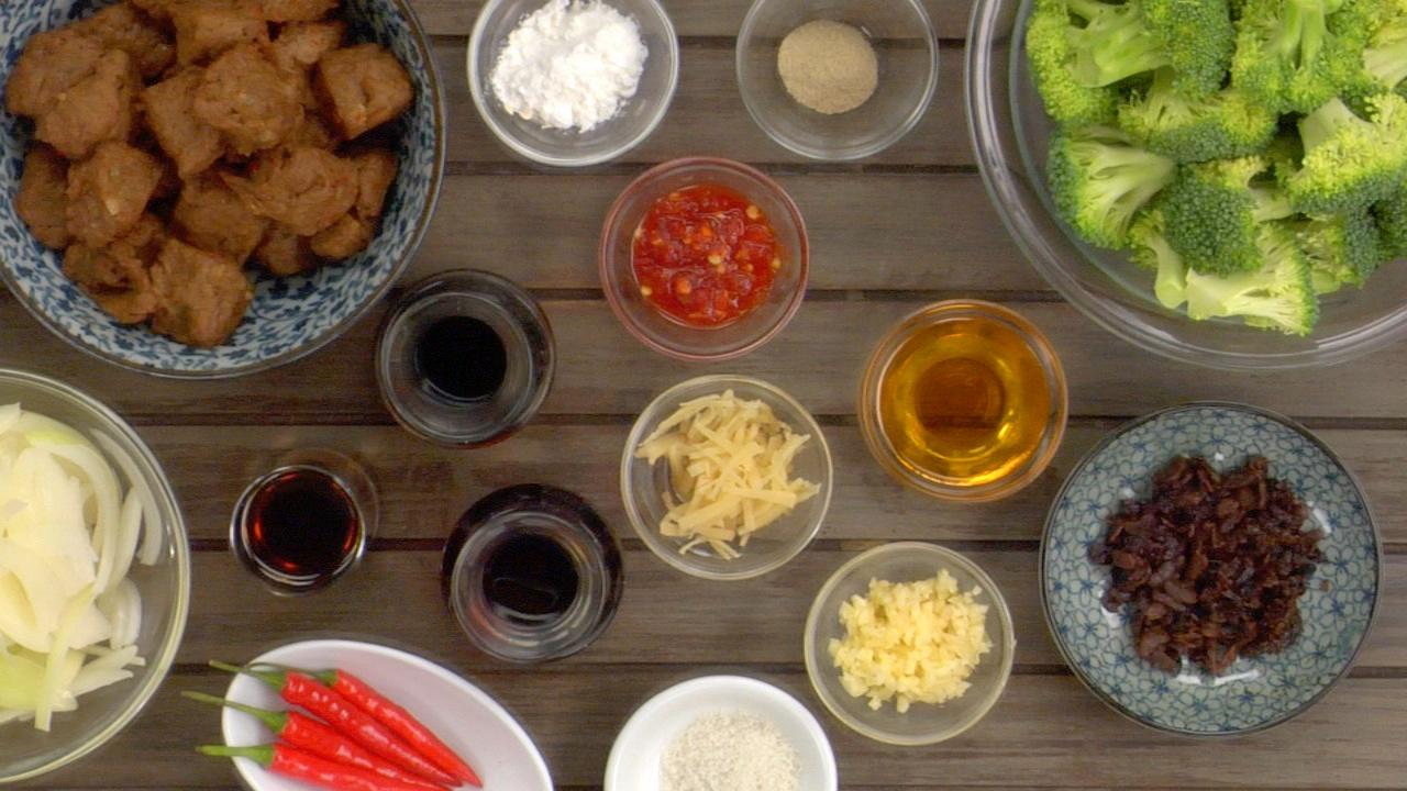 Preparing the Stir-Fry
