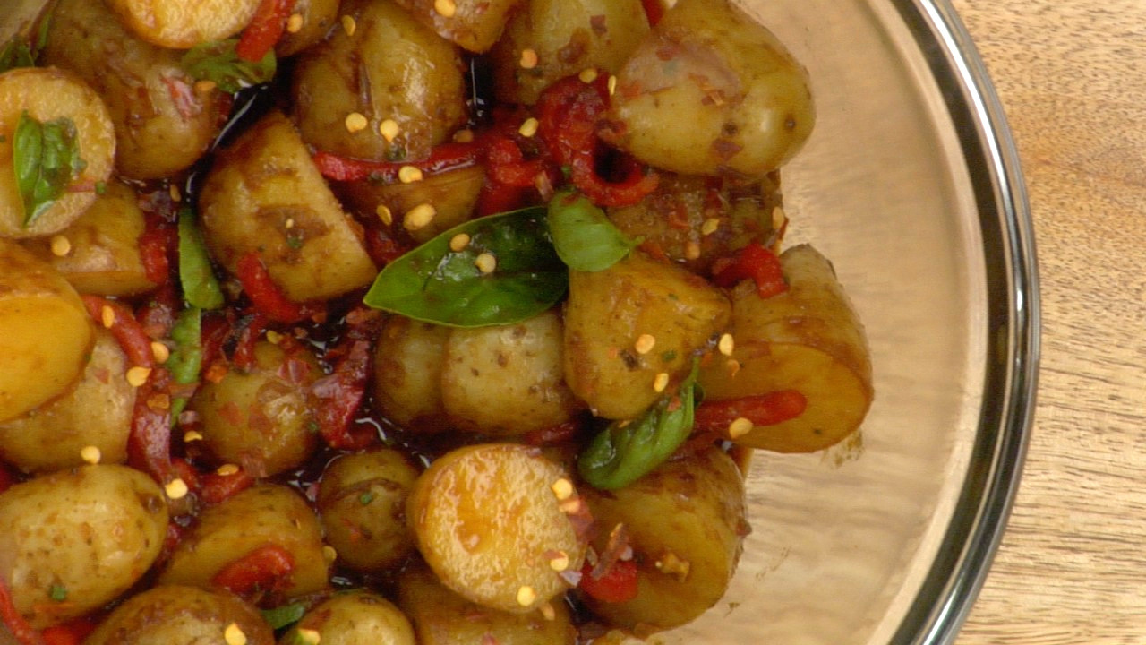 Balsamic Potatoes