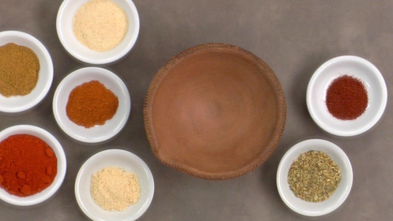 Preparing the Chili Powder