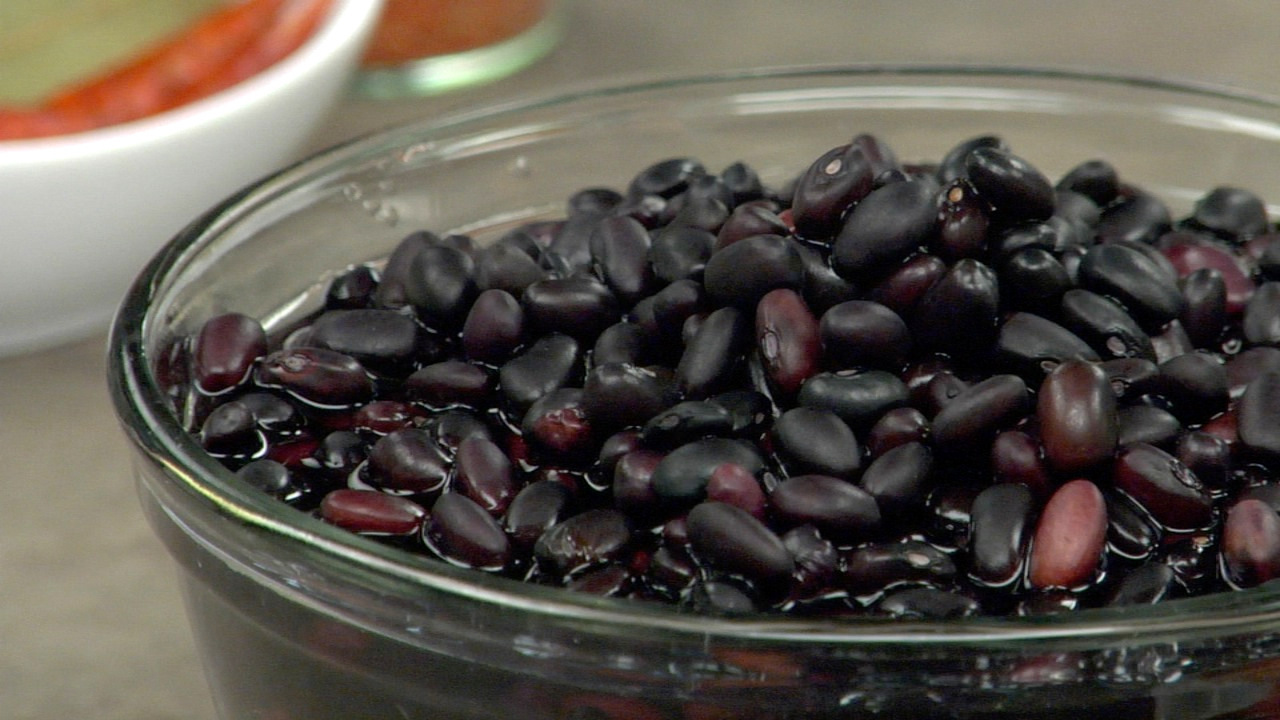 Preparing the Black Beans