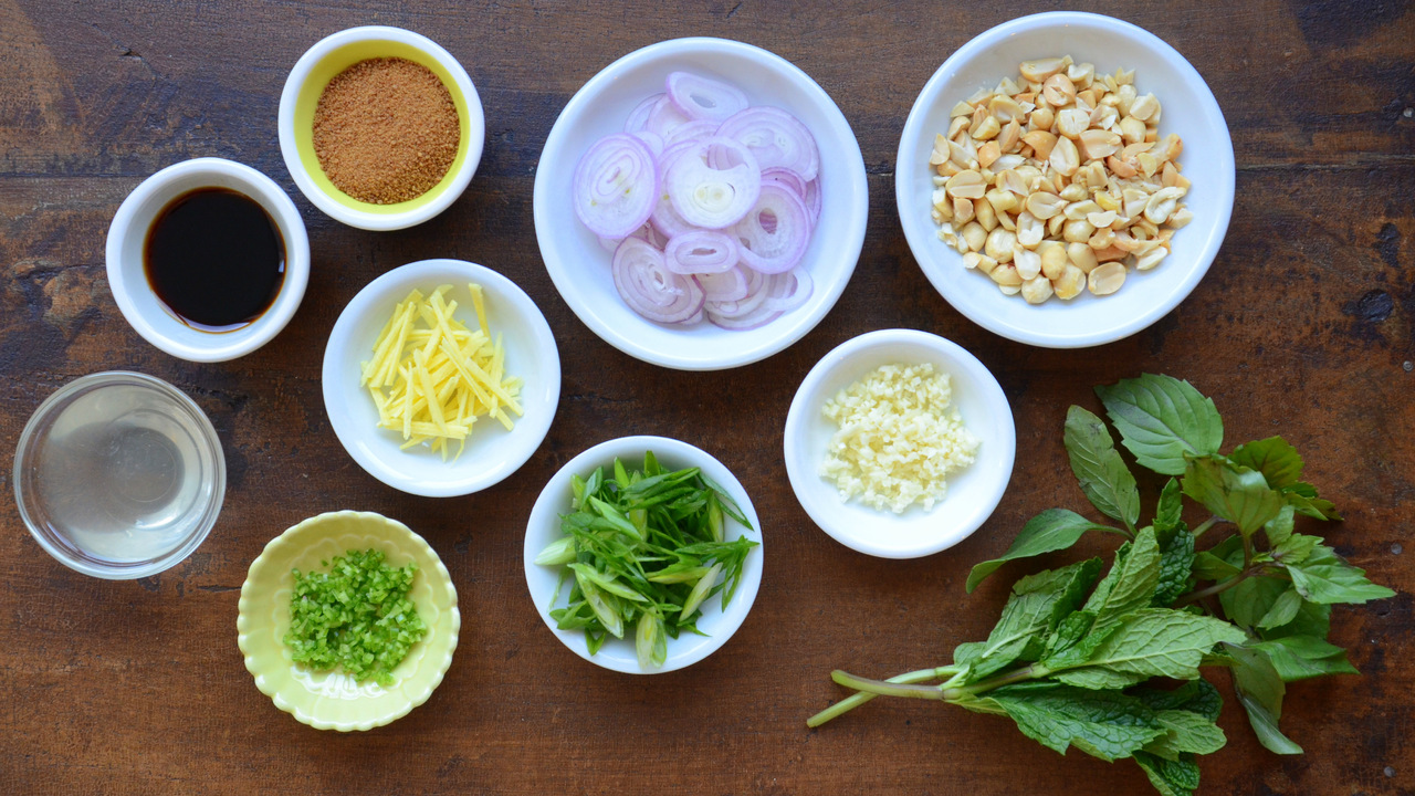Preparing the Mise en Place for the Sauce