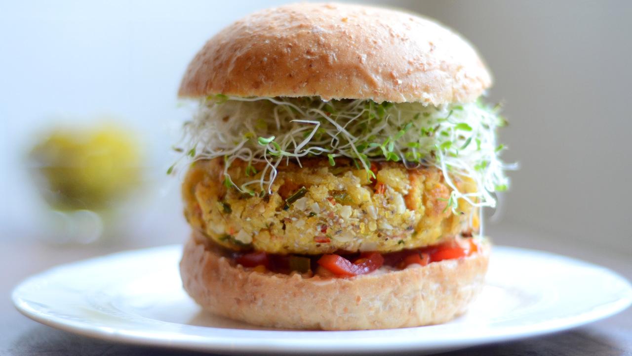 Almond Burgers | Egg, Dairy & Gluten Free