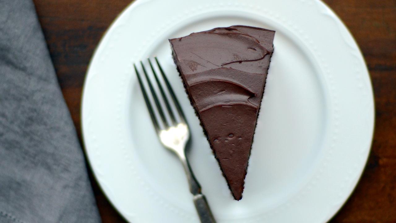 Chocolate Ganache Cake | Dairy, Egg & Soy Free