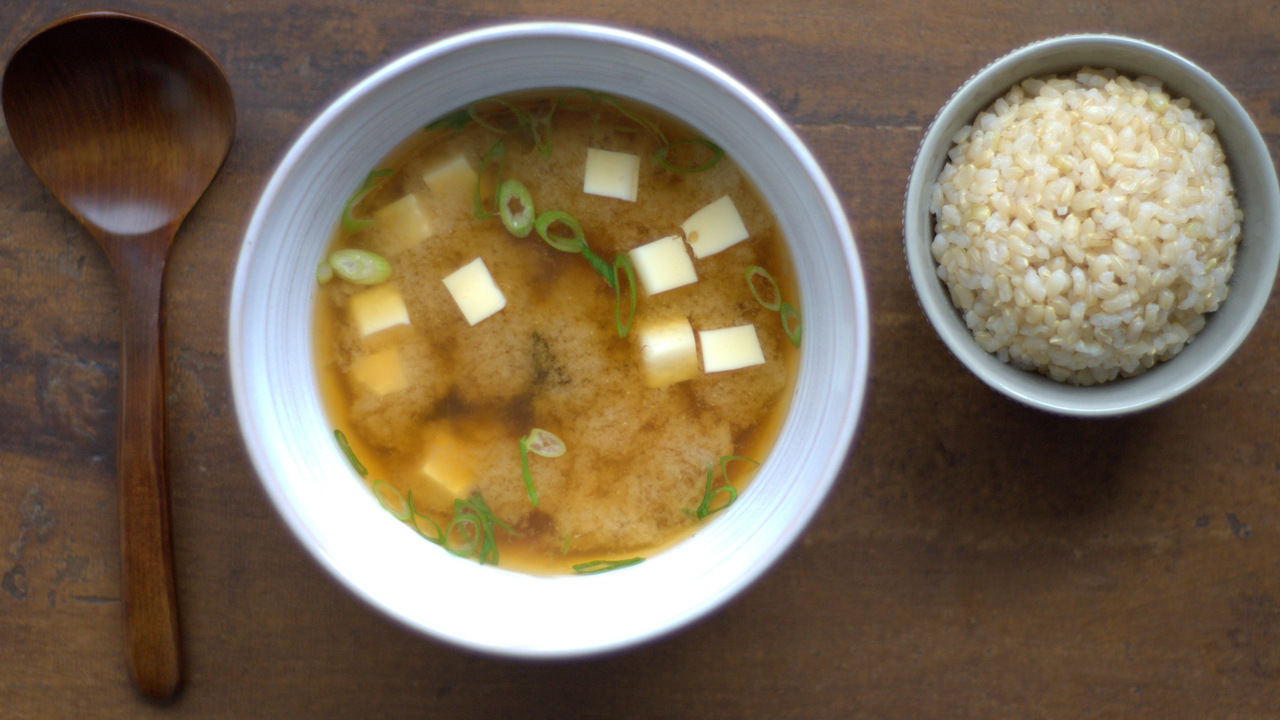 Making & Serving the MIso Soup