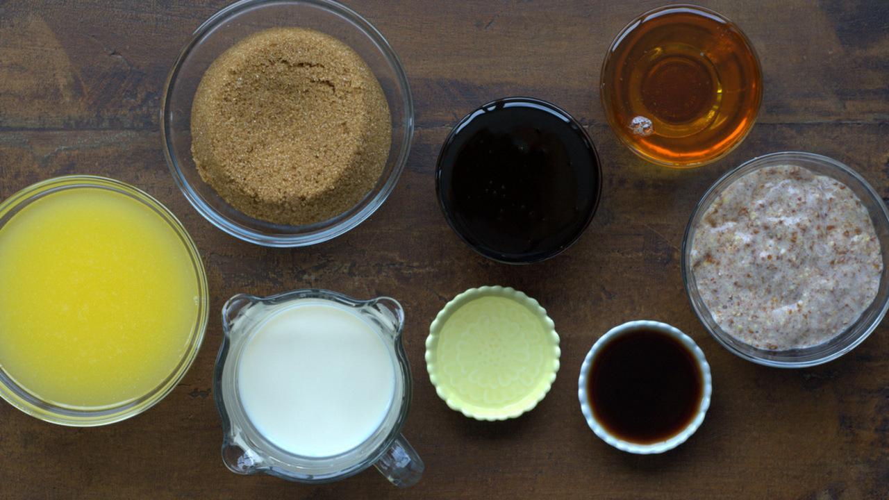 Mixing the Wet Ingredients