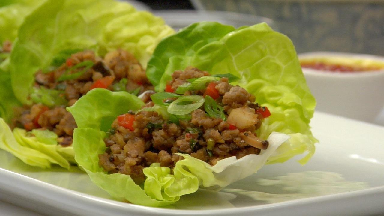 Beefless Lettuce Wraps