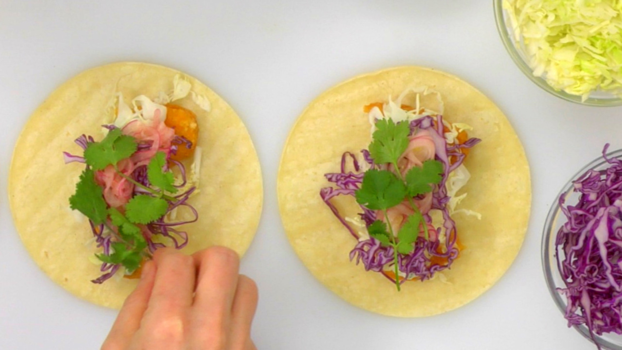 Assembling the Tacos