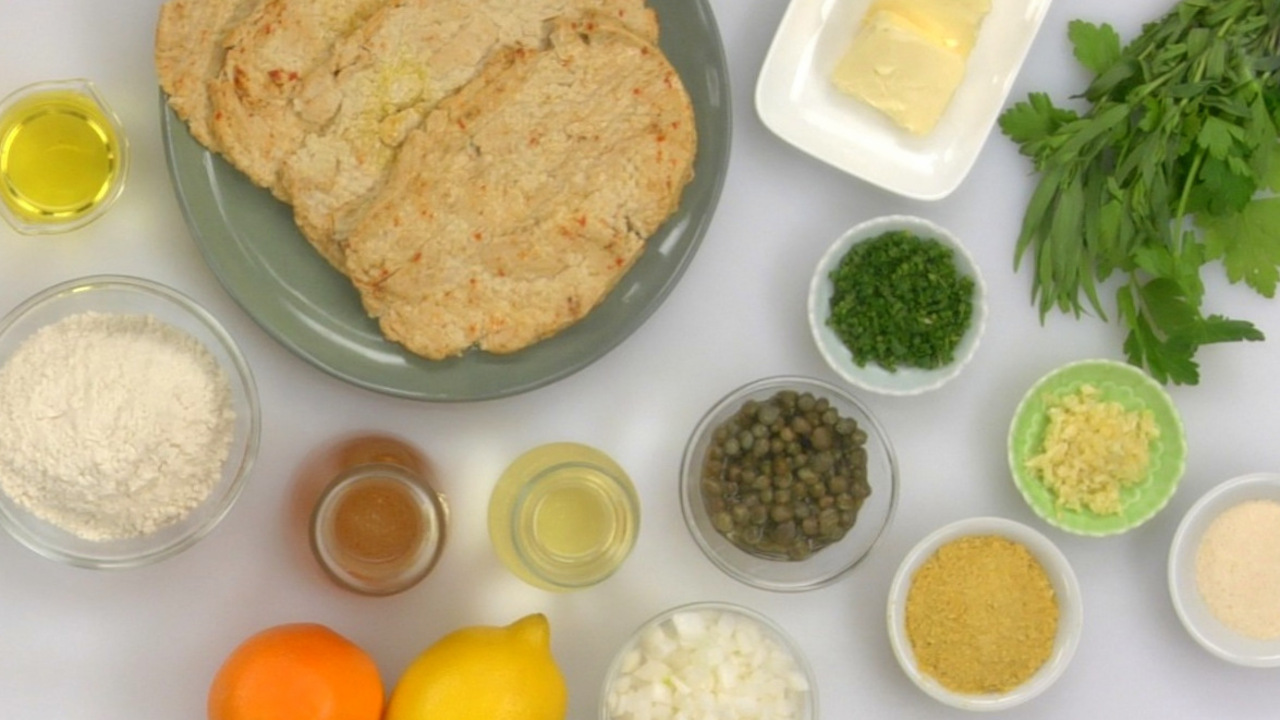 Gathering Your Mise en Place & Cooking the Chick'n