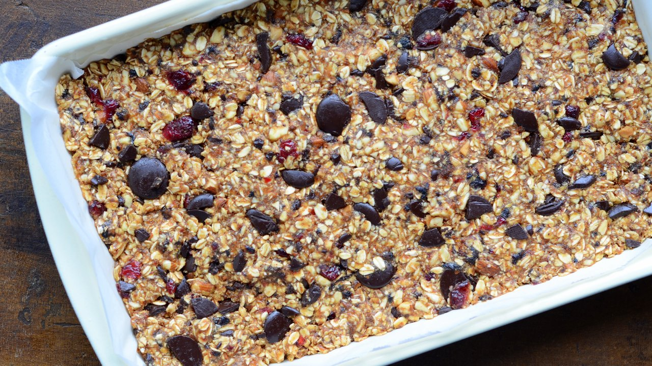 Mixing & Shaping the Granola Bars