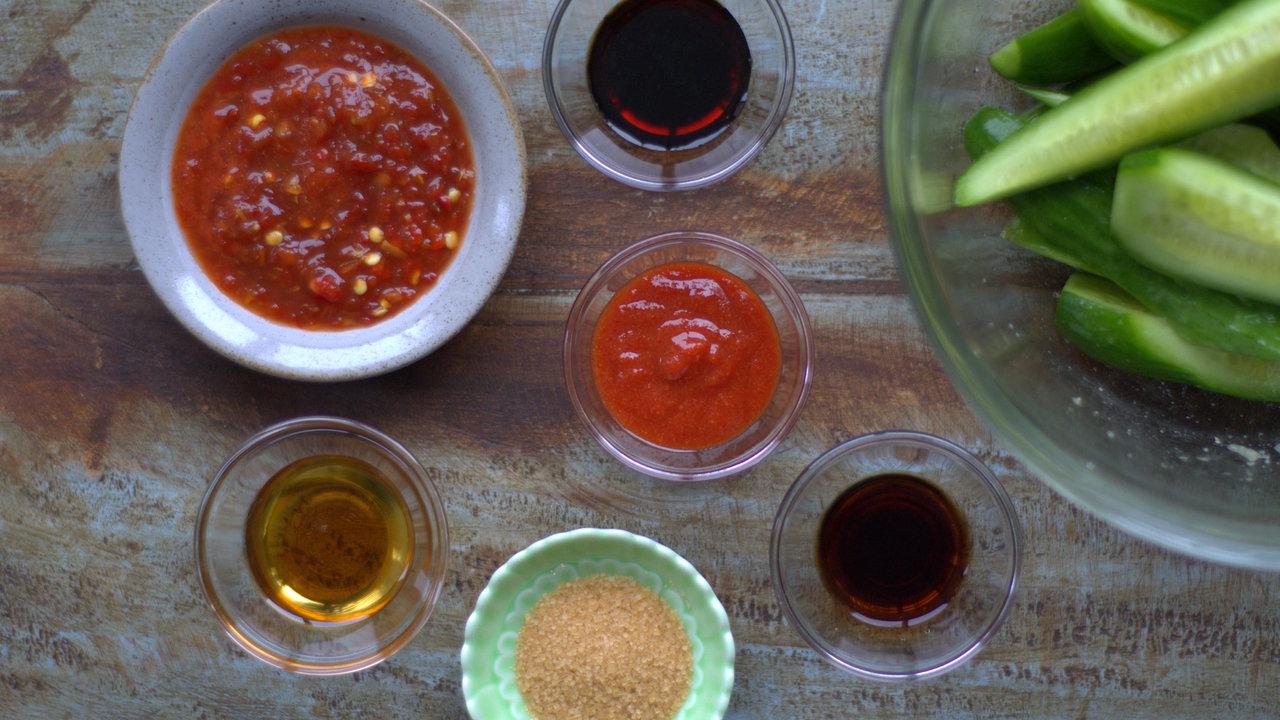 Preparing the Sauce