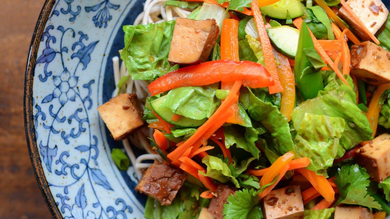 Thai Tofu & Noodle Salad