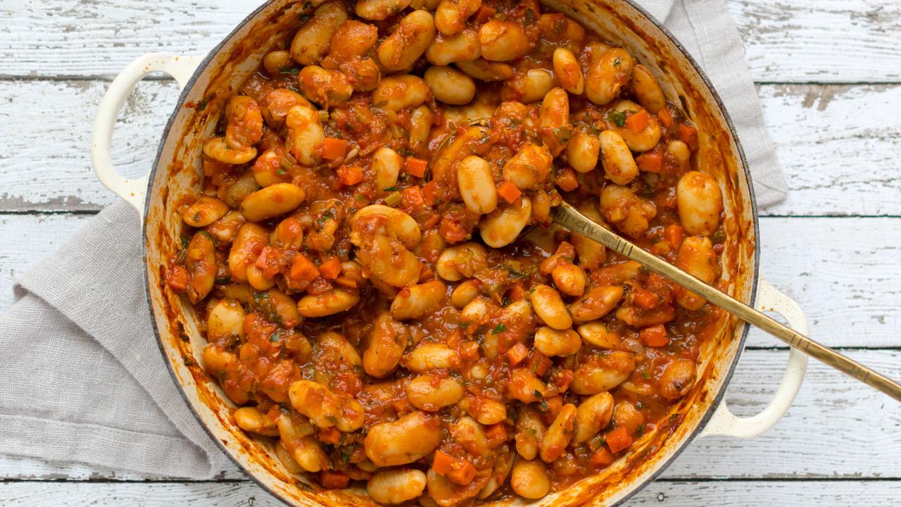 Gigantes Plaki | Greek Baked Beans