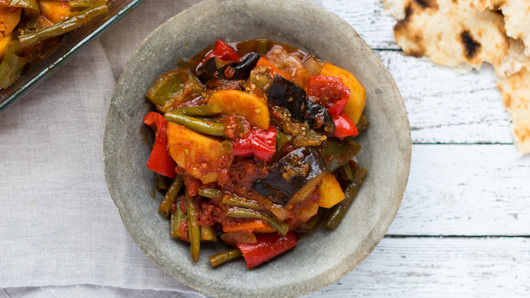 Greek vegetables briam 43 twocolumn