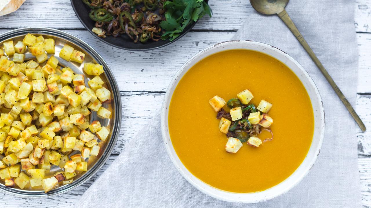 Yellow Split Pea & Butternut Squash Soup
