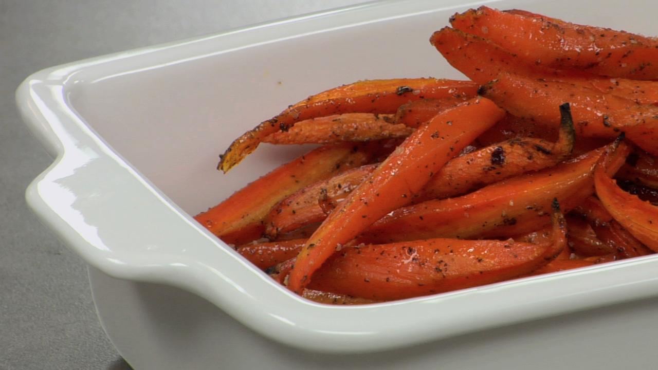 Roasted Glazed Carrots