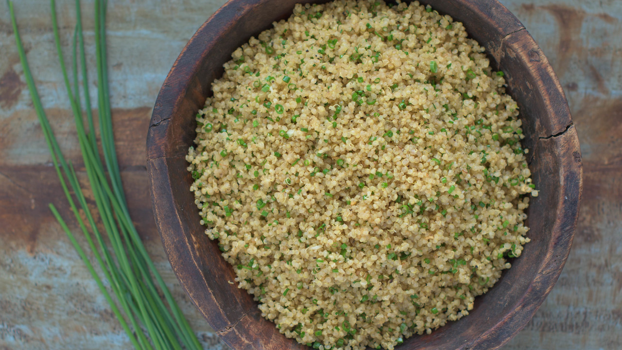 Garlic Fried Quinoa