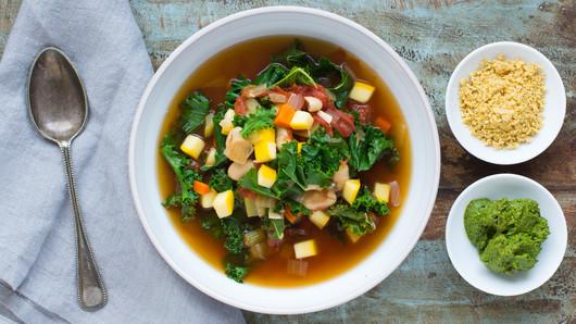 Minestrone soup  9 twocolumn