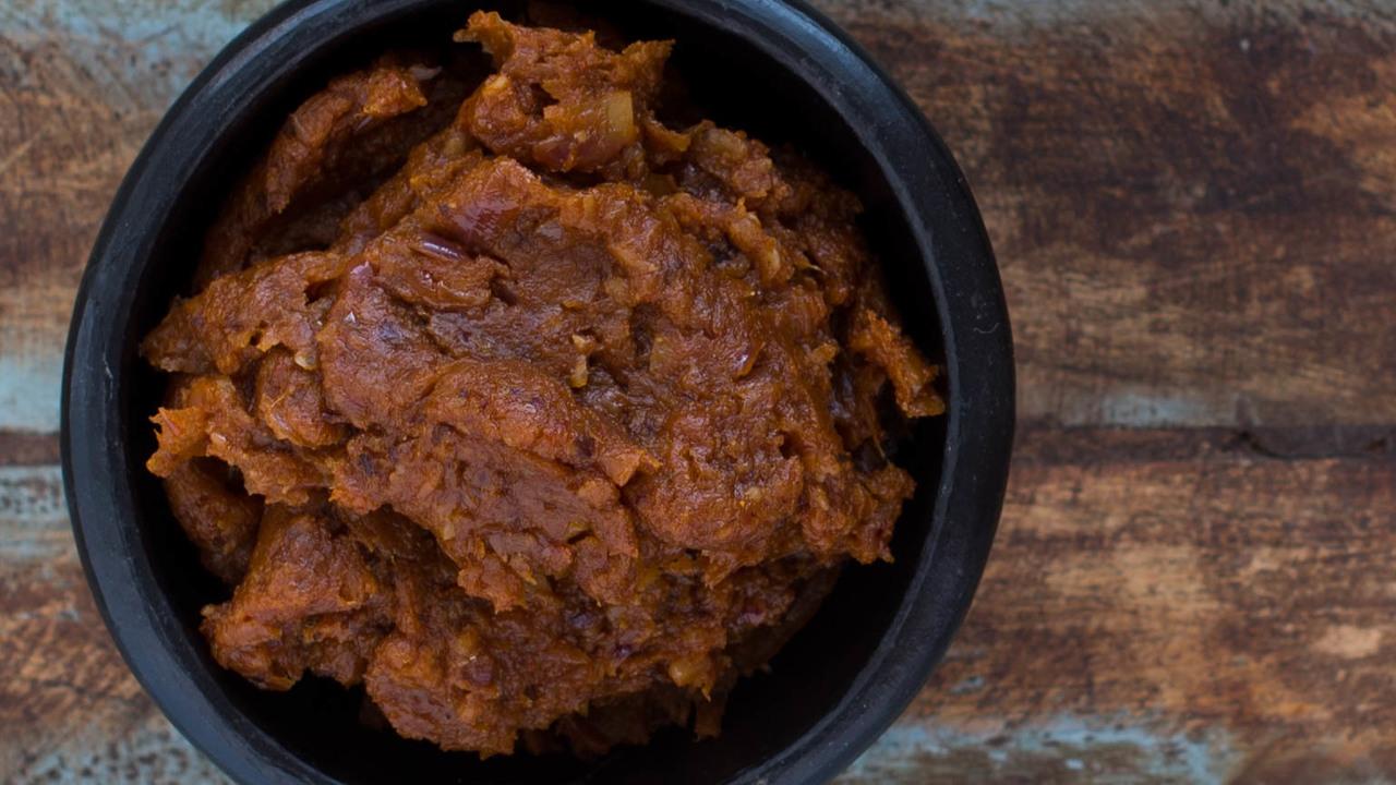 Thai Chili Paste | Nam Prik Pao
