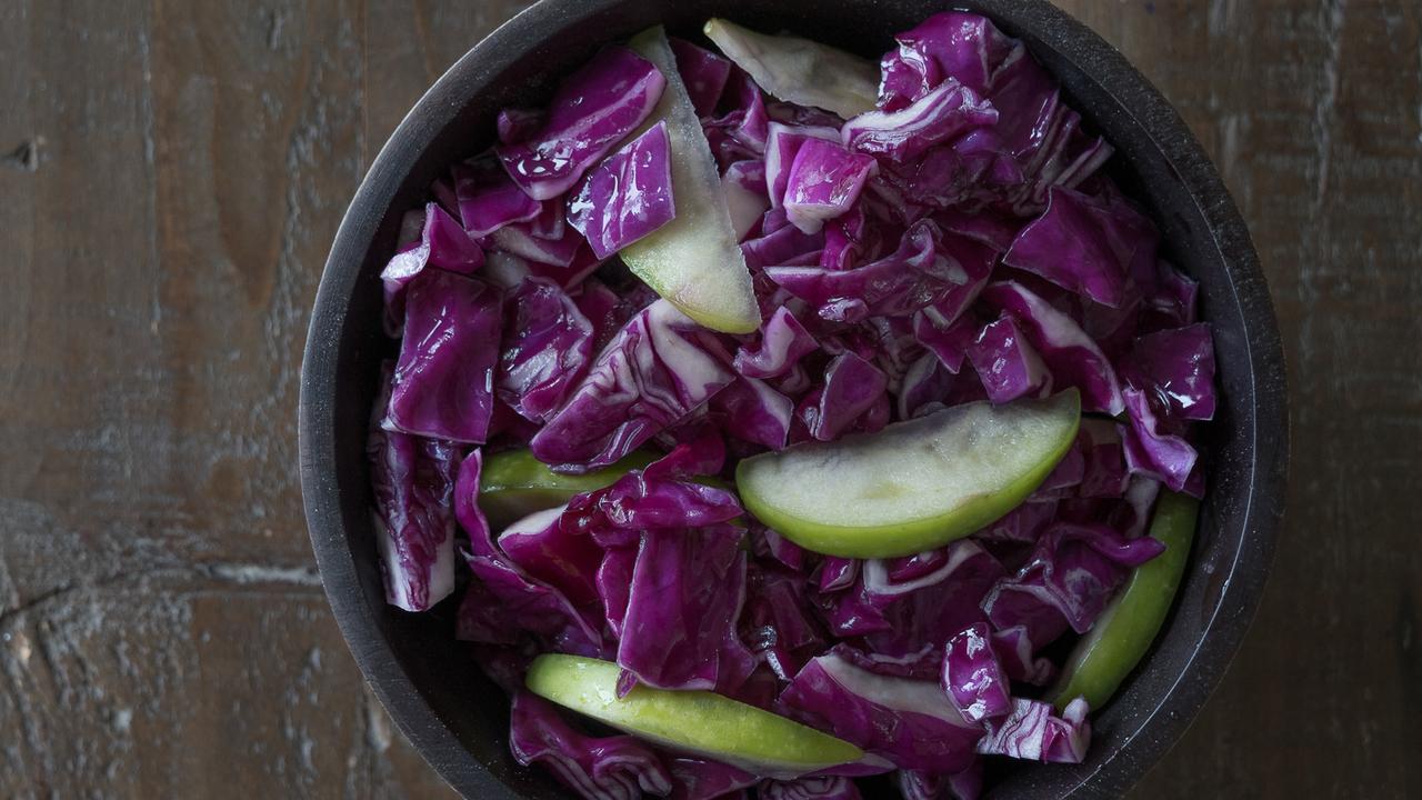 Red Cabbage & Apple Kraut