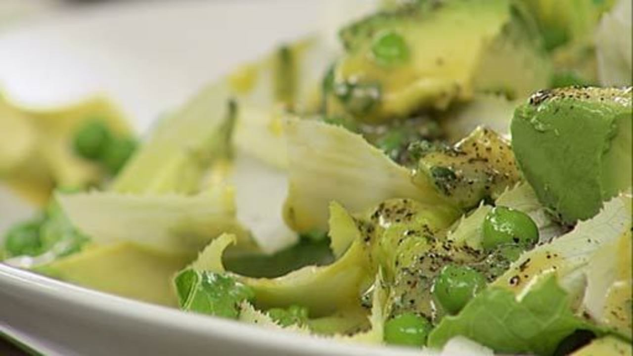 Mint Pea & Endive Salad