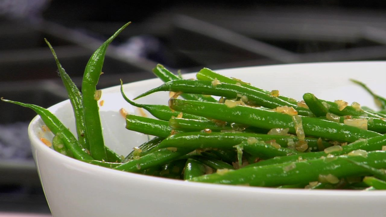 Sautéed French Green Beans