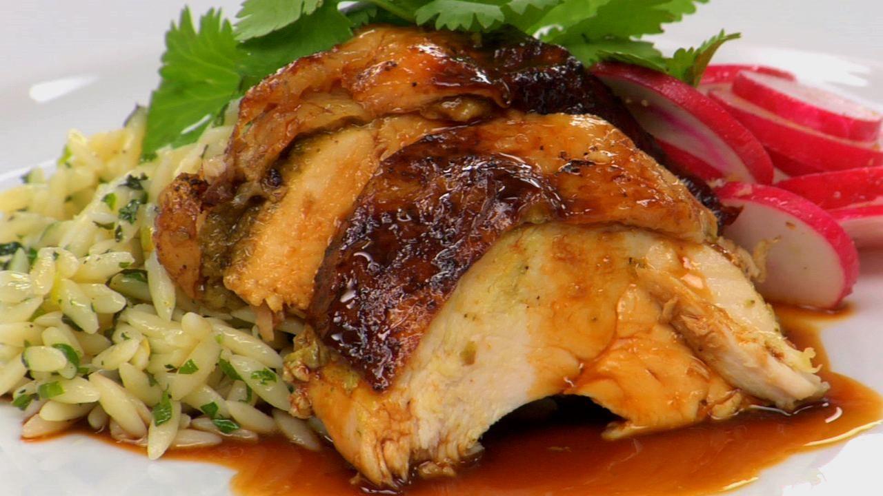Roasted Lemon & Cilantro Chicken