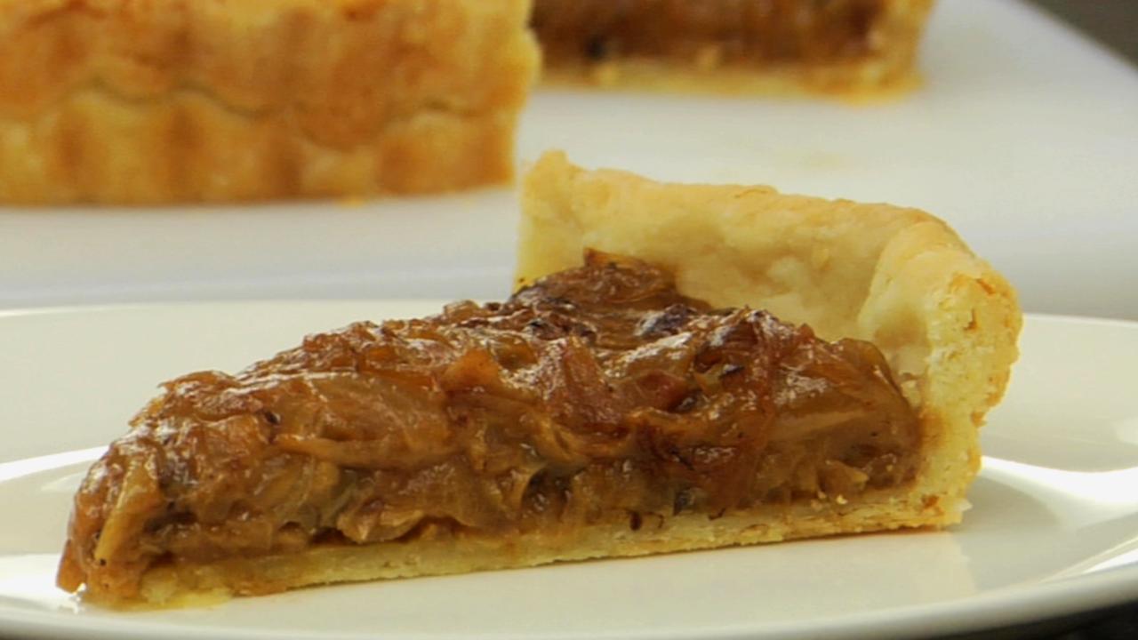 Alsatian Onion Tart