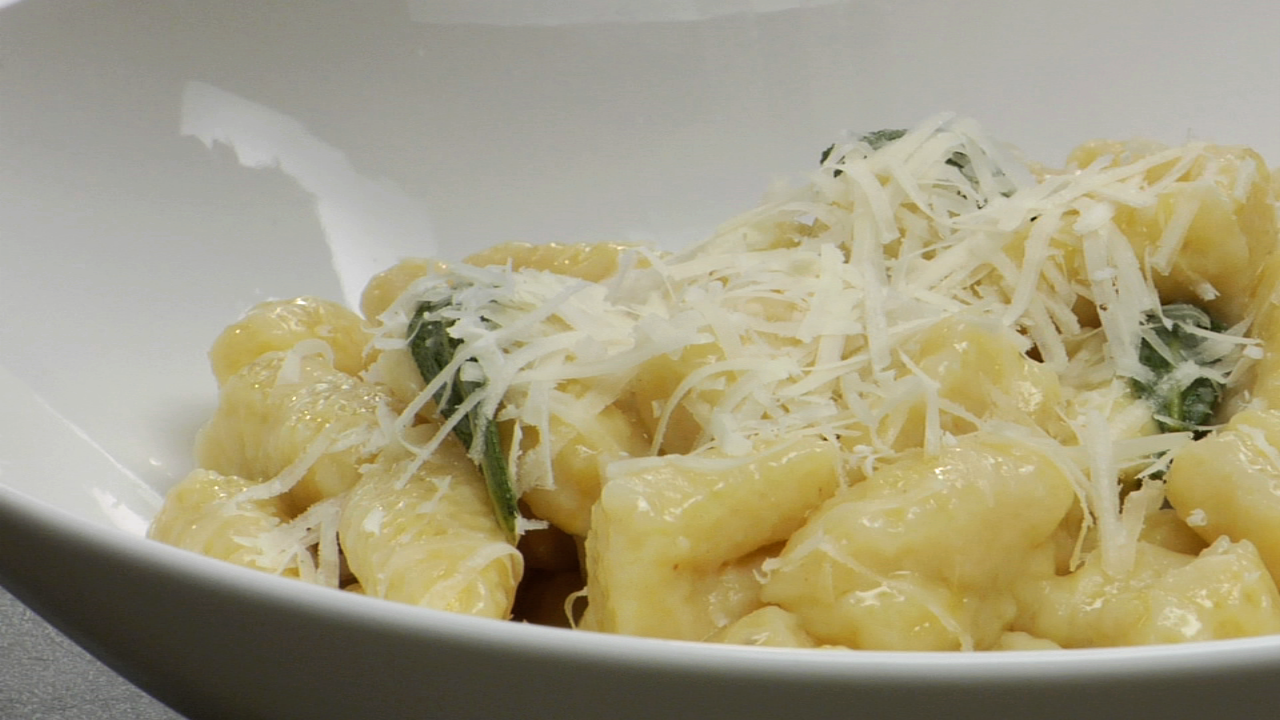 Gnocchi With Warm Sage Butter