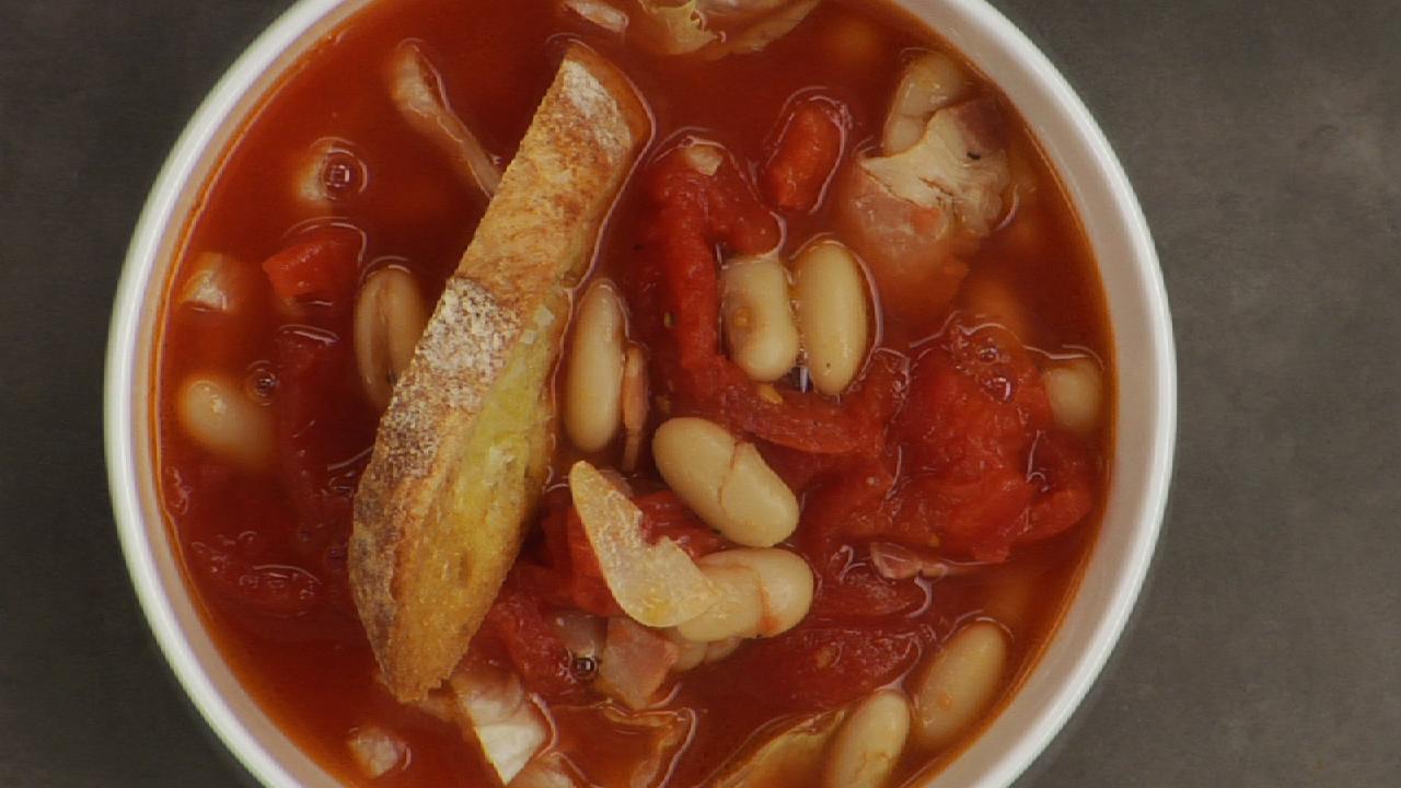 Pancetta White Bean Soup