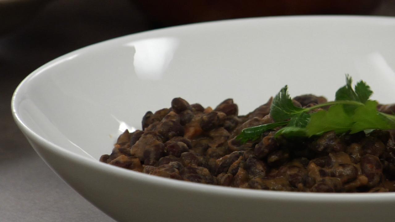 Black Beans W/ Smoked Salsa