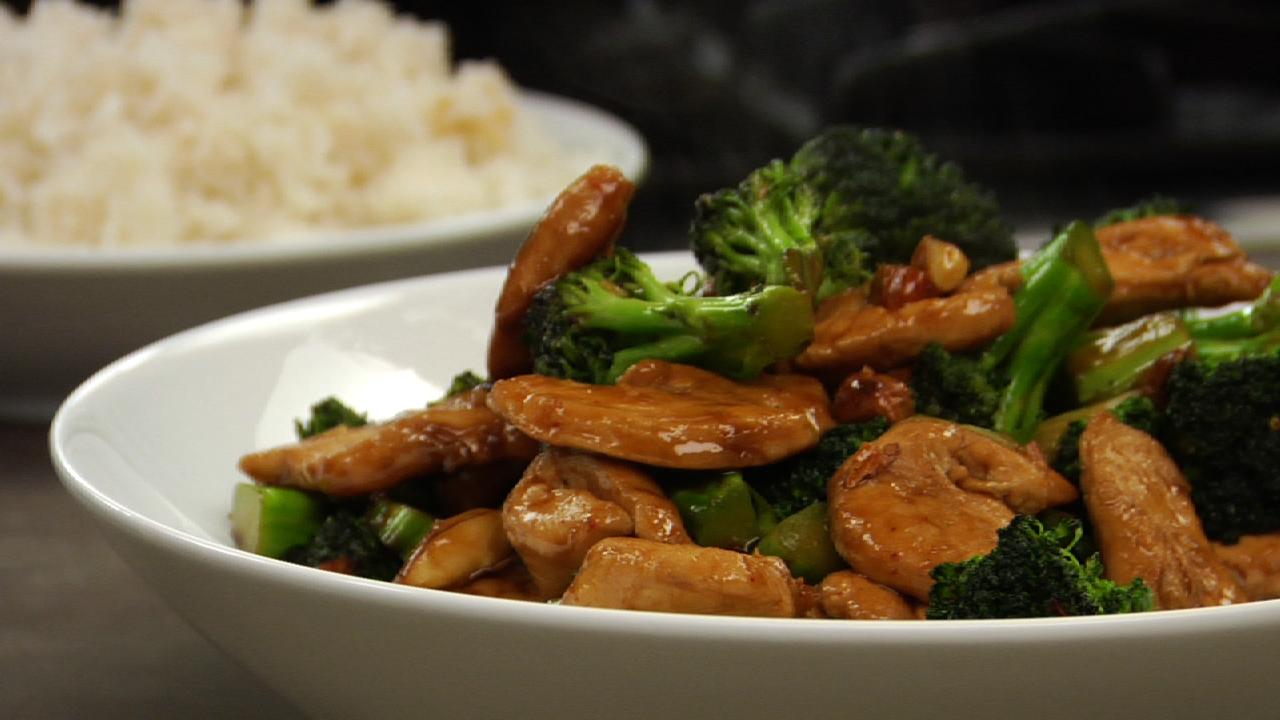 Broccoli & Chicken Stir Fry