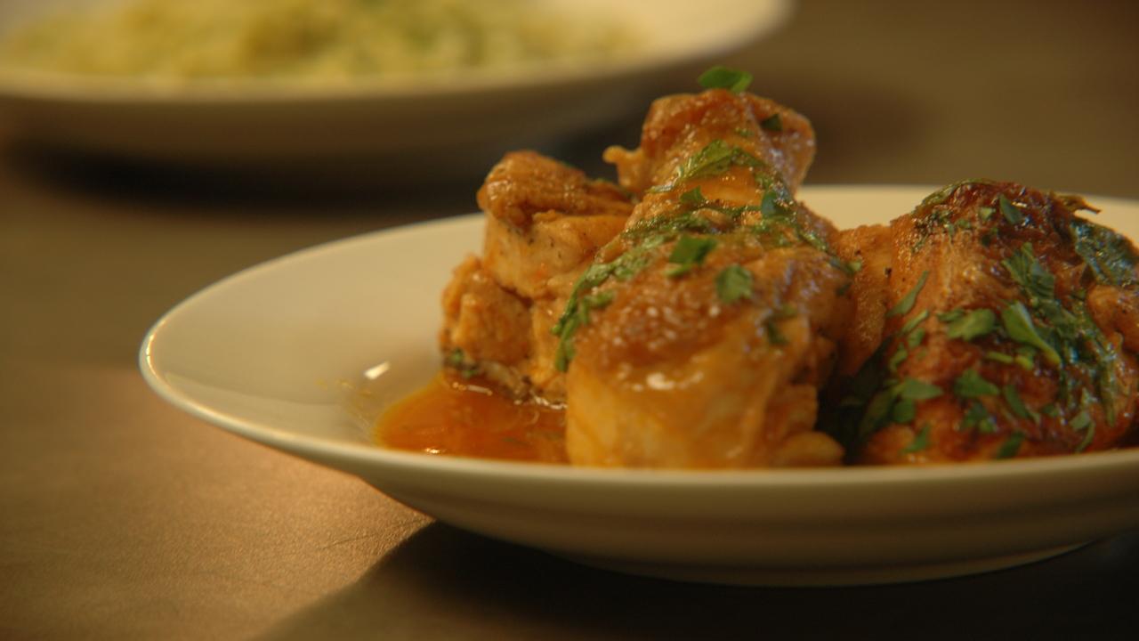Chicken In Vinegar