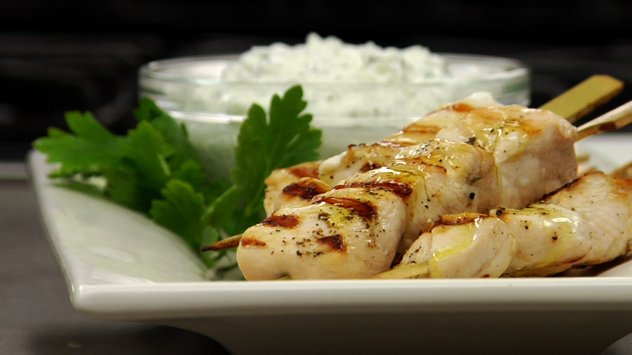 Chicken Souvlaki | Greek Chicken