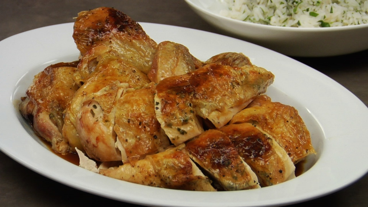 Butterflied Roast Chickens