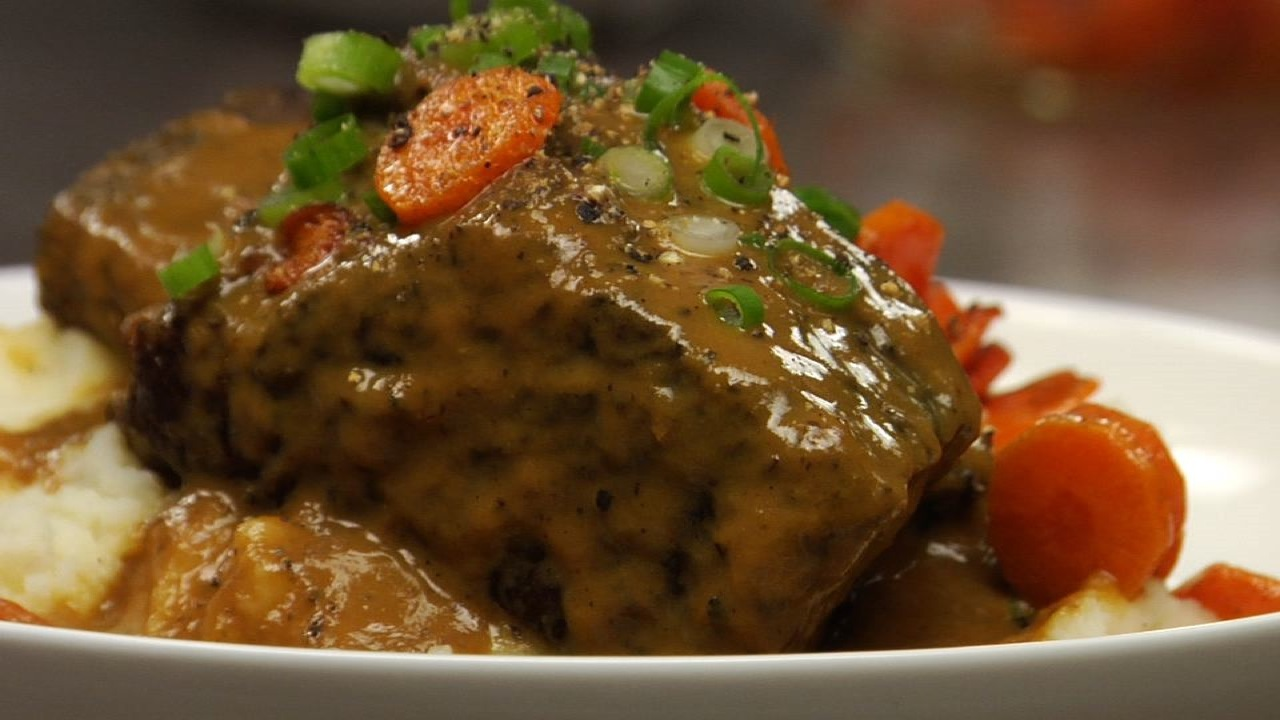 Braised Peppercorn Short Ribs