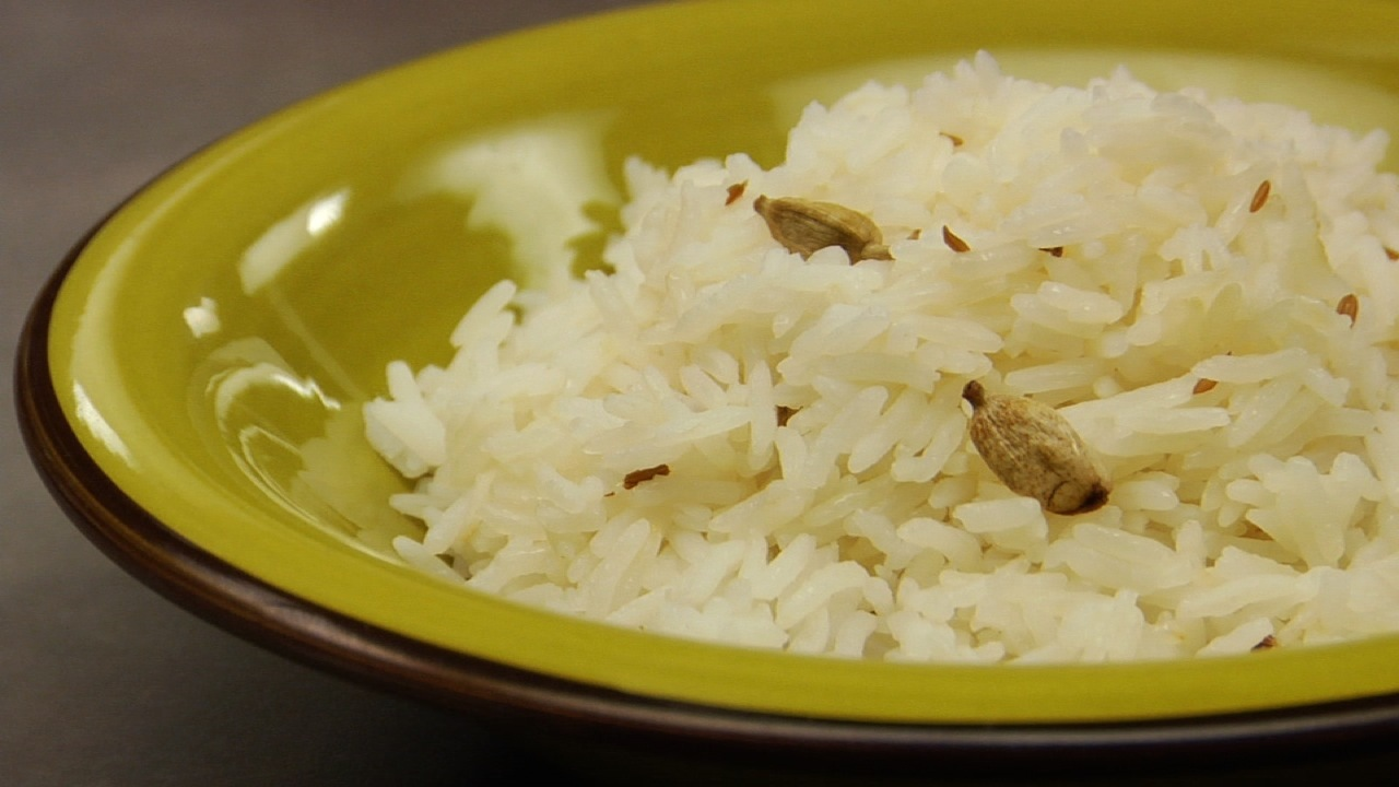 Cardamom & Cumin Infused Basmati Rice