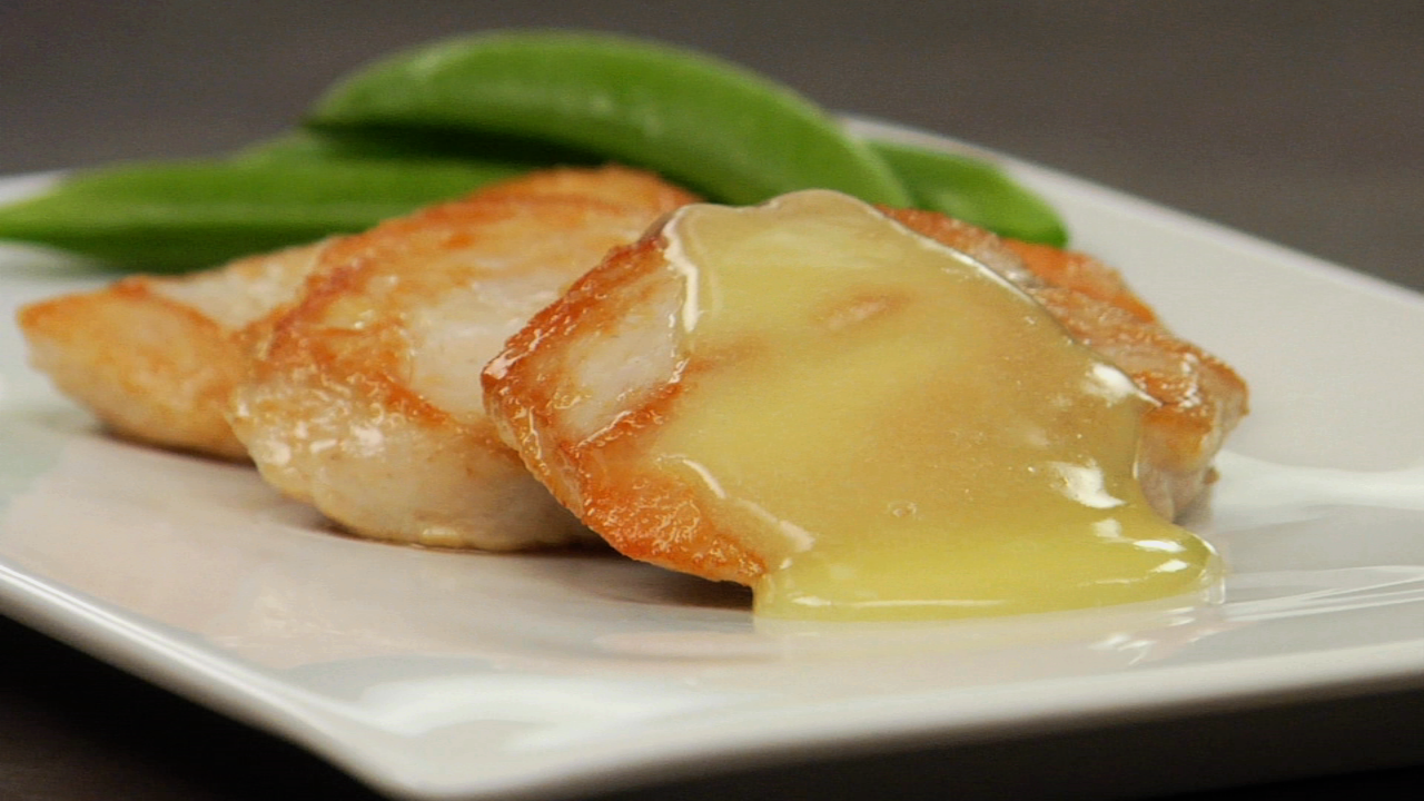 Chicken W/ Ginger Lemongrass Beurre Blanc