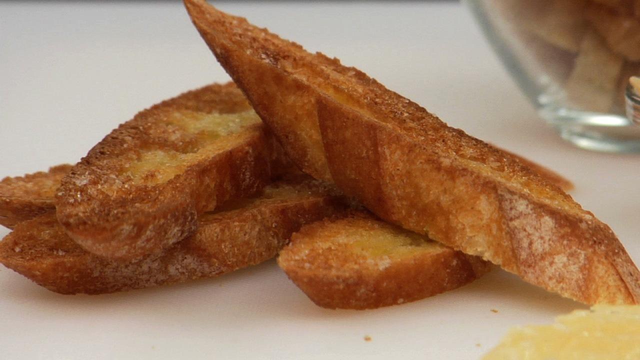 Golden Crispy Crostini