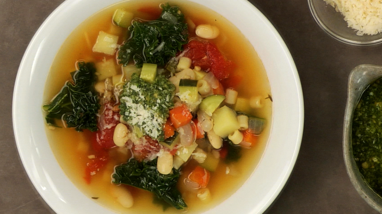 Hearty Homemade Minestrone