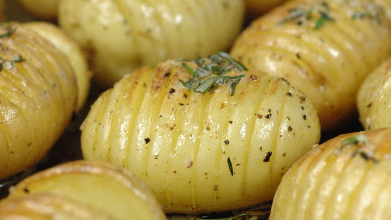 Roasted Potatoes | Hasselback Potatoes