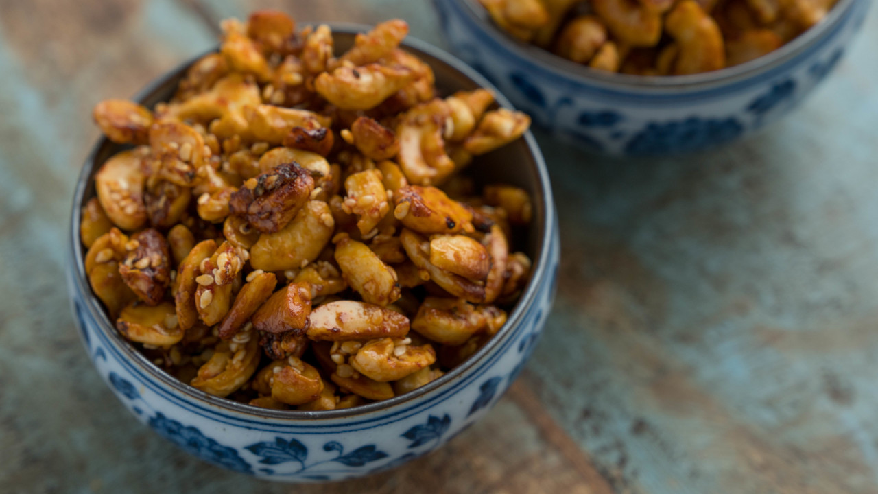 Asian Style Roasted Cashews