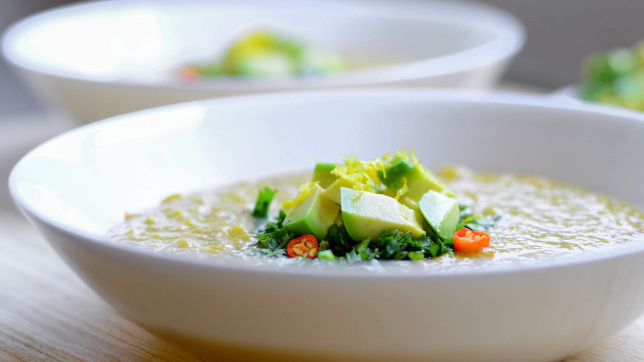 Lentil Coconut Soup | No Oil