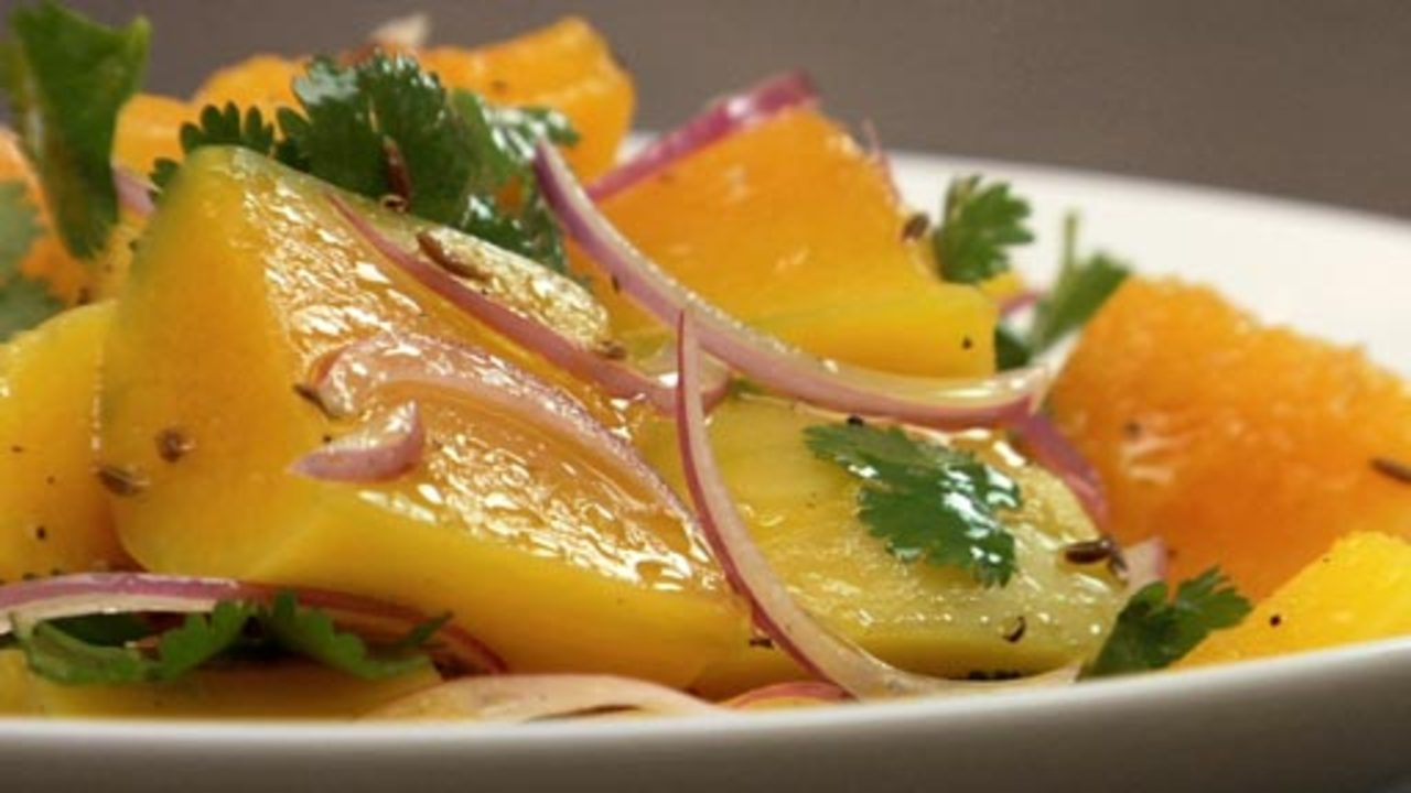 Butternut Squash Salad W/ Champagne Vinaigrette